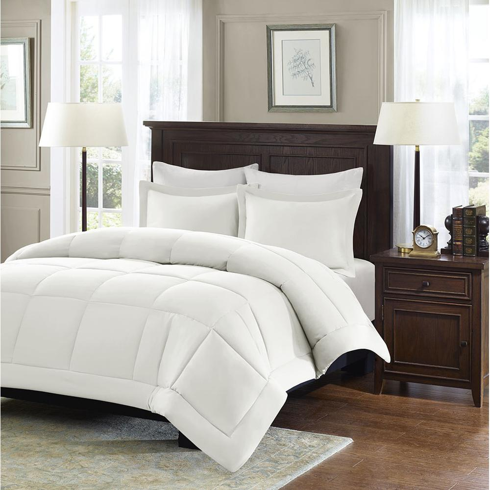 100% Polyester Microcell Down Alternative Comforter Mini Set with 3M Moisture Treatment,,MP10-1252. Picture 2
