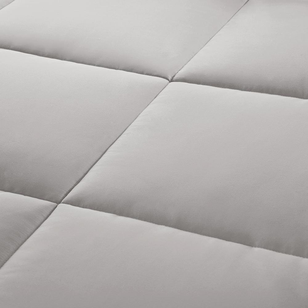 100% Polyester Microcell Down Alternative Comforter Mini Set with 3M Moisture Treatement,MP10-2433. Picture 4