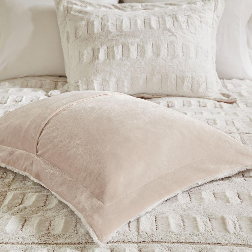 100% Polyester Back Print Long Fur Comforter Set,MP10-6210. Picture 14