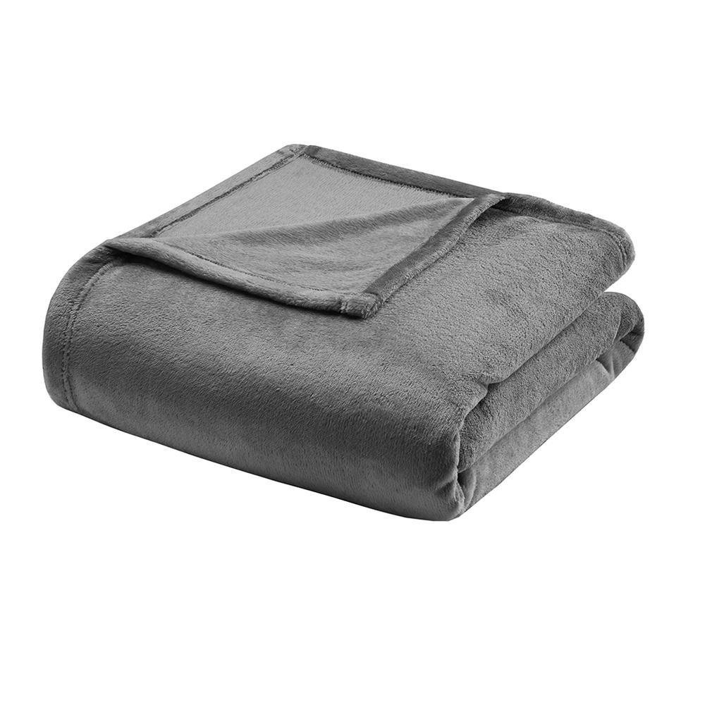 "100% Polyester Microlight Blanket W/ 1"" Self Hem,BL51-0618. Picture 11"