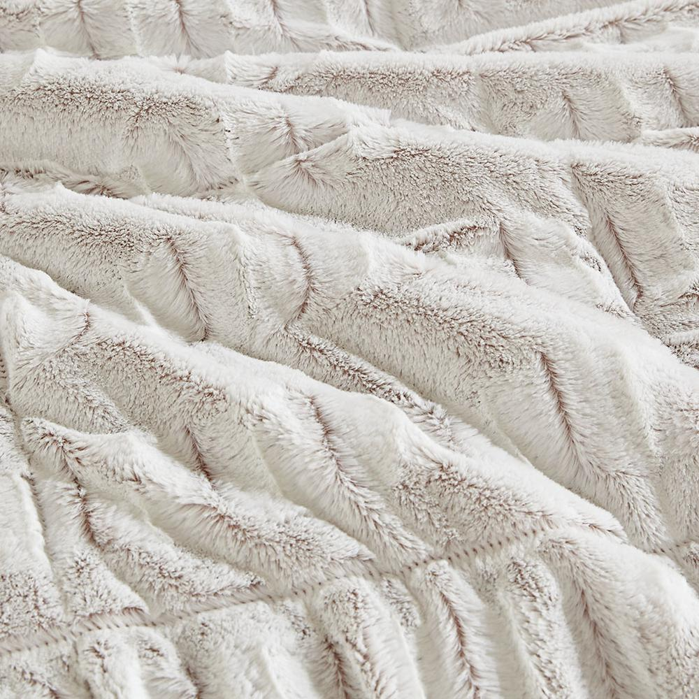 100% Polyester Back Print Long Fur Comforter Set,MP10-6210. Picture 8