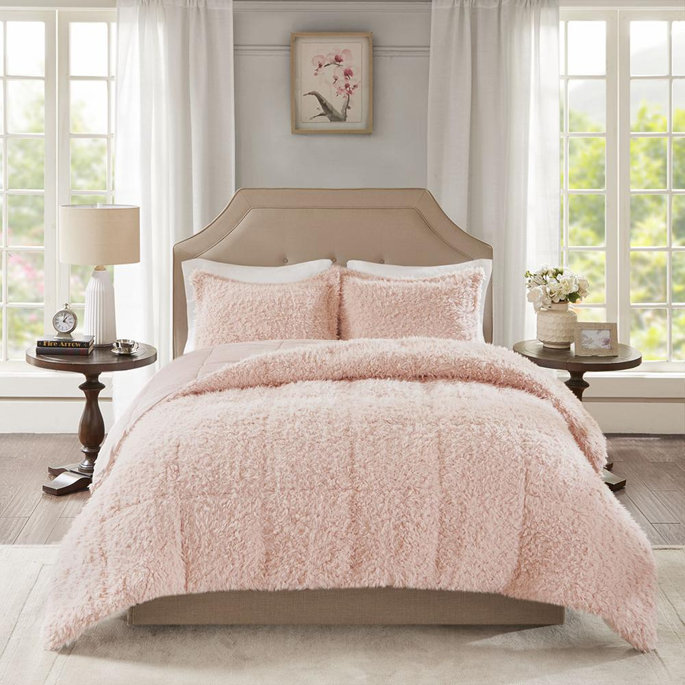100% Polyester Solid Mohair Comforter Set,MP10-6005. Picture 1
