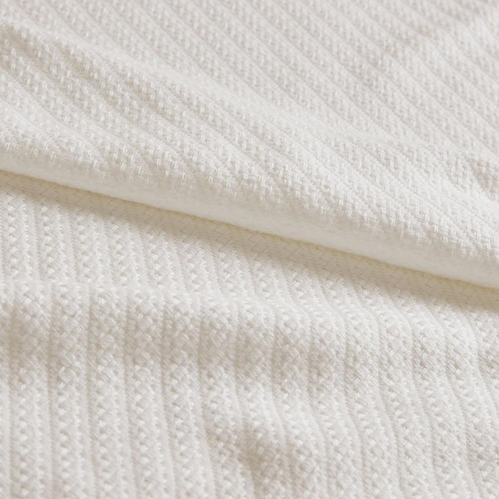 "100% Cotton Blanket w/ 1"" Self Hem,BL51N-0734. Picture 8"