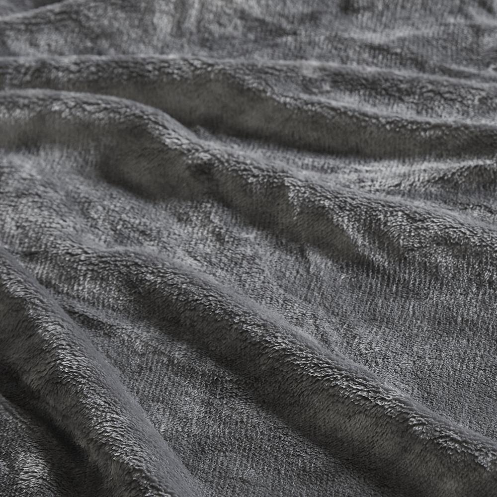 "100% Polyester Microlight Blanket W/ 1"" Self Hem,BL51-0618. Picture 6"