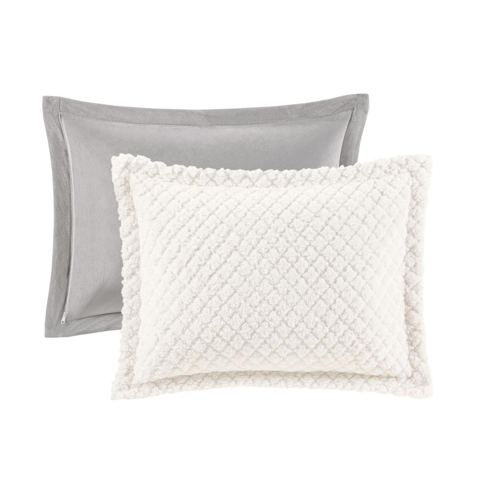 100% Polyester Pinsonic Sherpa Comforter Set,MP10-6627. Picture 14