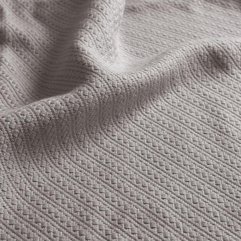 "100% Cotton Blanket w/ 1"" Self Hem,BL51N-0679. Picture 8"