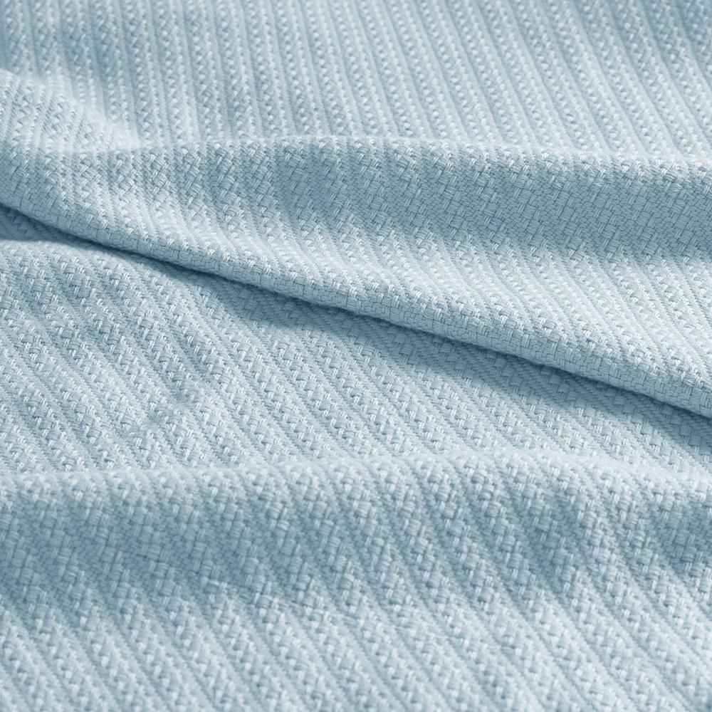 "100% Cotton Blanket w/ 1"" Self Hem,BL51N-0609. Picture 9"