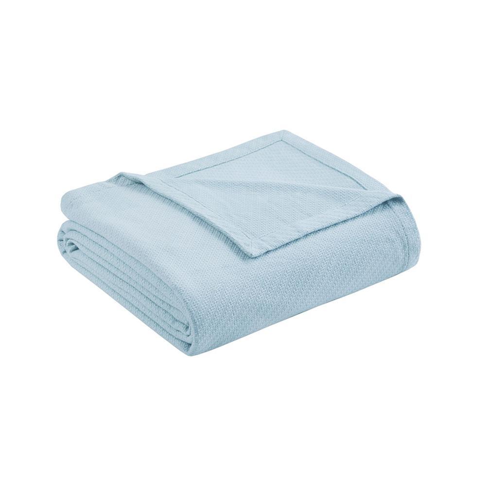 "100% Cotton Blanket w/ 1"" Self Hem,BL51N-0609. Picture 13"