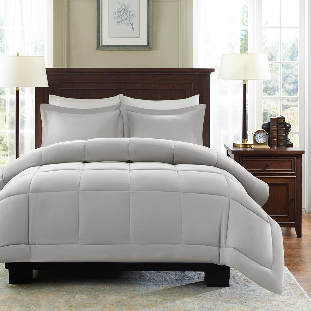 100% Polyester Microcell Down Alternative Comforter Mini Set with 3M Moisture Treatement,MP10-2433. Picture 1
