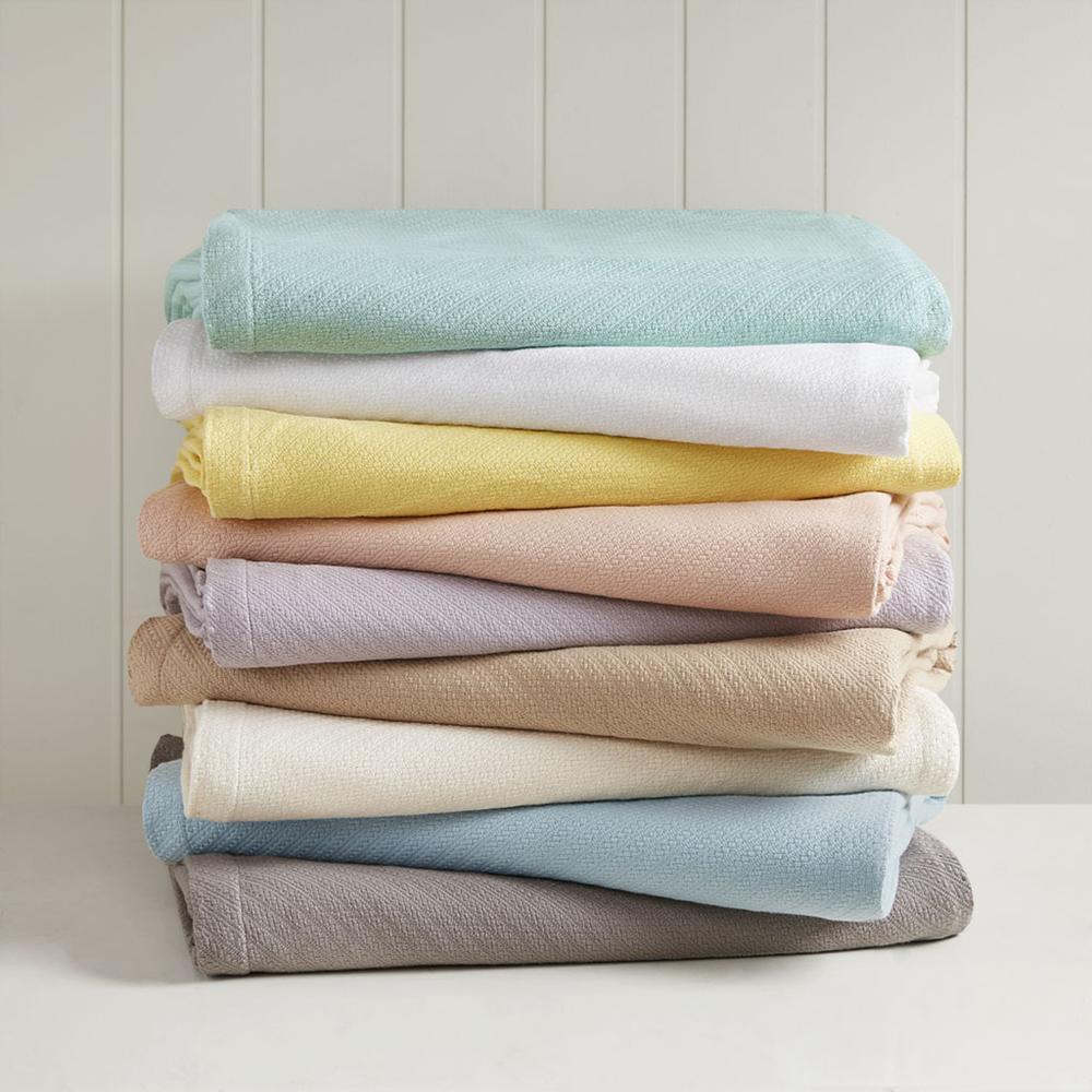 "100% Cotton Blanket w/ 1"" Self Hem,BL51N-0732. Picture 17"