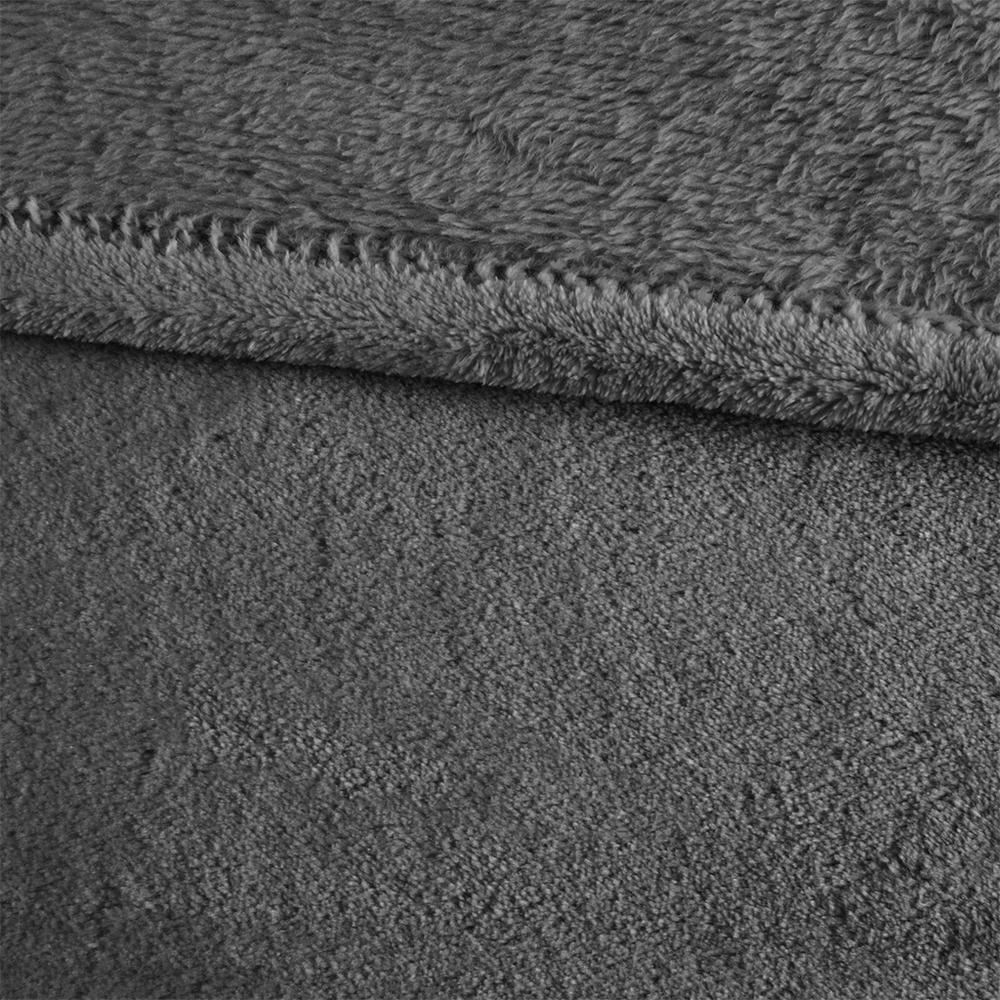 """100% Polyester Solid Brushed Blanket W/ 1"""" Self Hem,MP51-1711. Picture 4"""