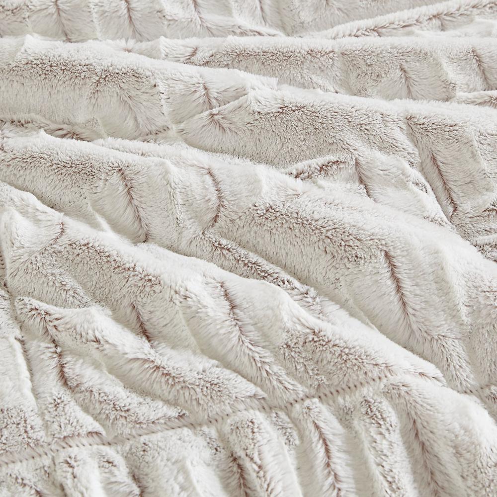 100% Polyester Back Print Long Fur Comforter Set,MP10-6210. Picture 10