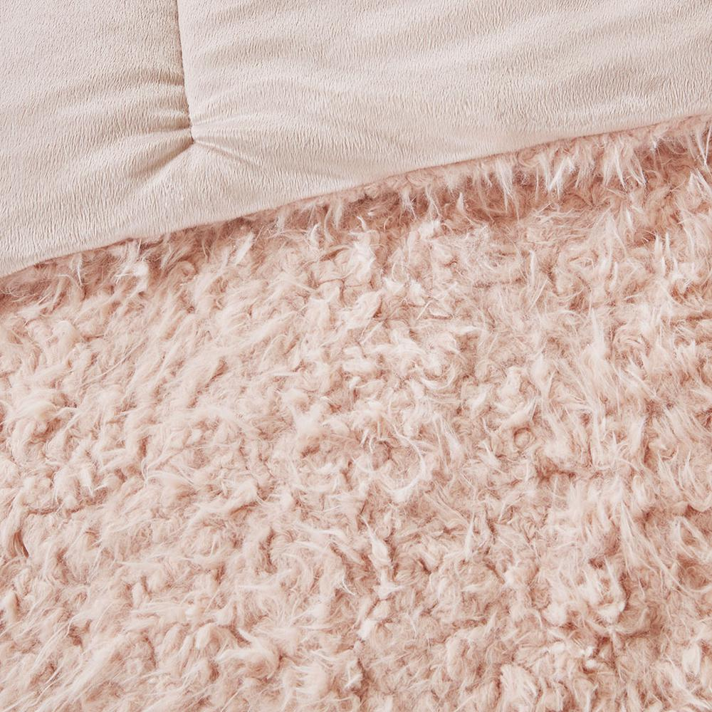 100% Polyester Solid Mohair Comforter Set,MP10-6005. Picture 13