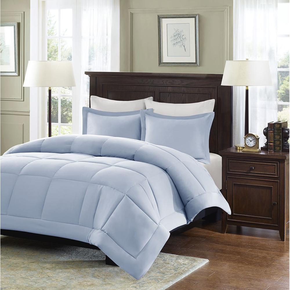 100% Polyester Microcell Comforter Mini Set with 3M Moisture Treatment,MP10-4310. Picture 2