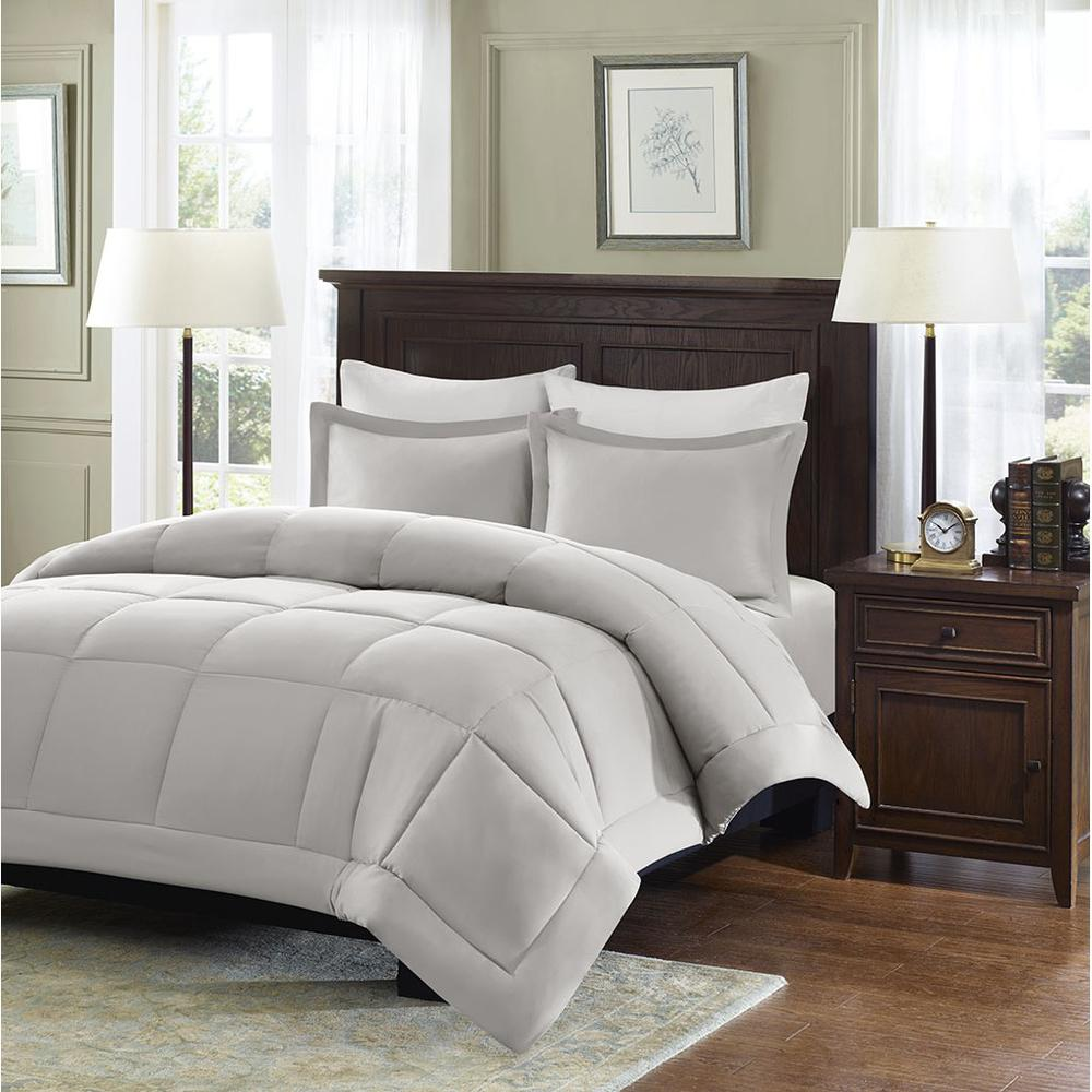 100% Polyester Microcell Down Alternative Comforter Mini Set with 3M Moisture Treatement,MP10-2433. Picture 2