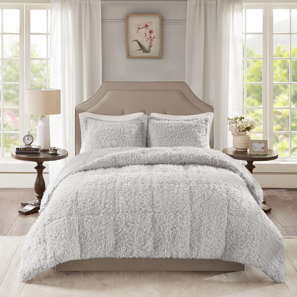 100% Polyester Solid Mohair Comforter Set,MP10-6011. Picture 1