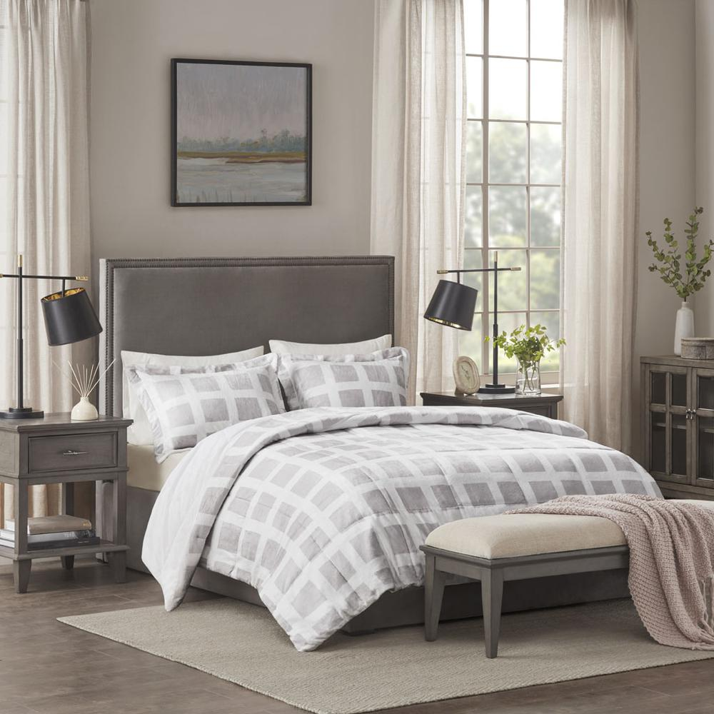100% Polyester Mae Reversible Comforter Set,MP10-6666. Picture 2