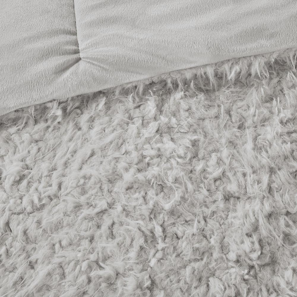 100% Polyester Solid Mohair Comforter Set,MP10-6011. Picture 12