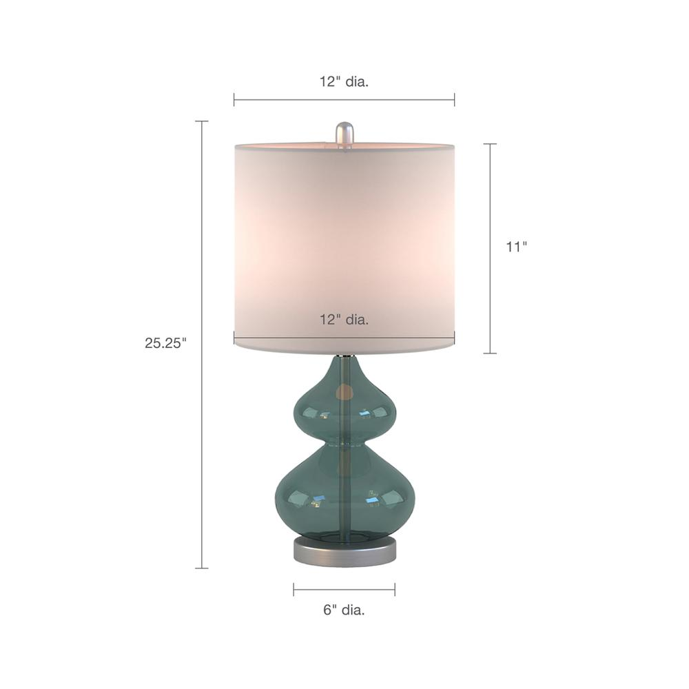 Ellipse Table Lamp Set Of 2,5DS153-0018. Picture 9