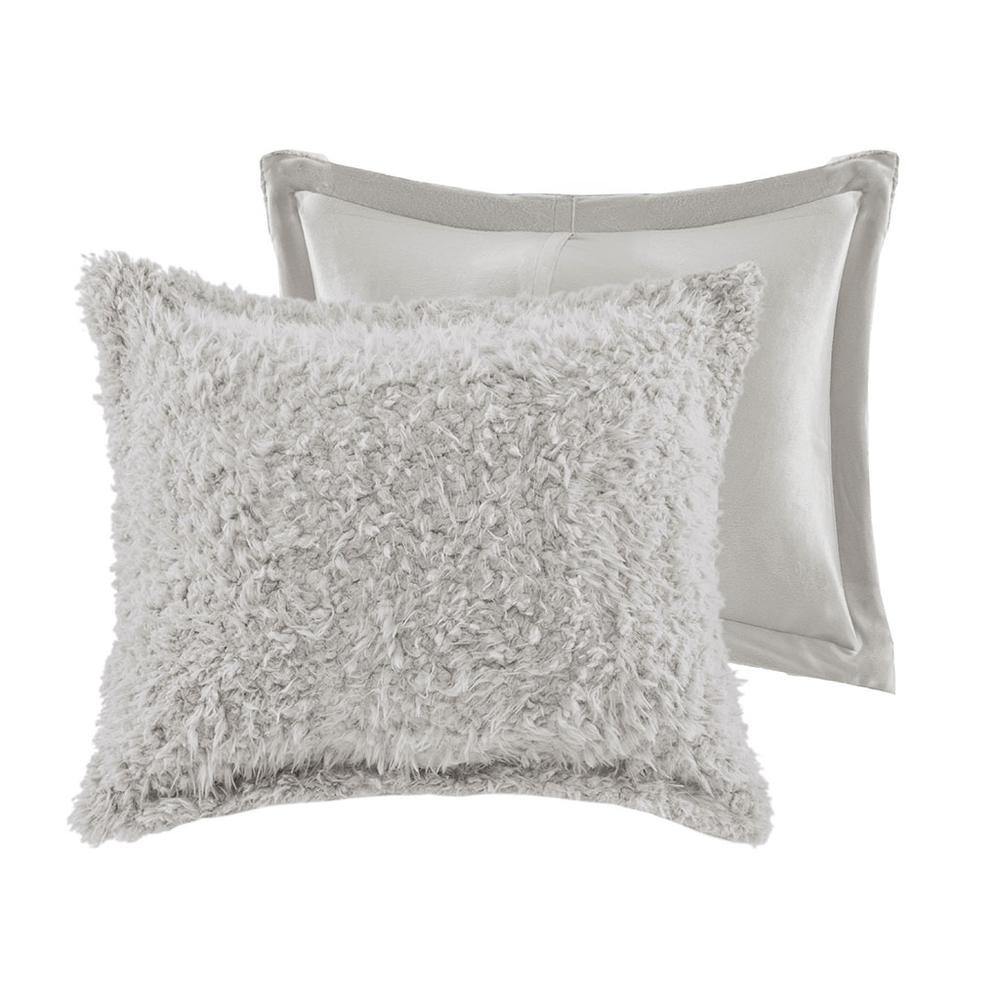 100% Polyester Solid Mohair Comforter Set,MP10-6011. Picture 7