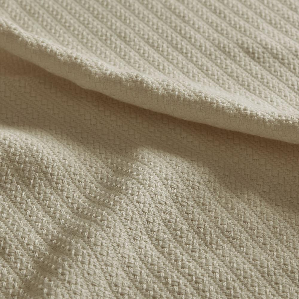 "100% Cotton Blanket w/ 1"" Self Hem,BL51N-0676. Picture 13"