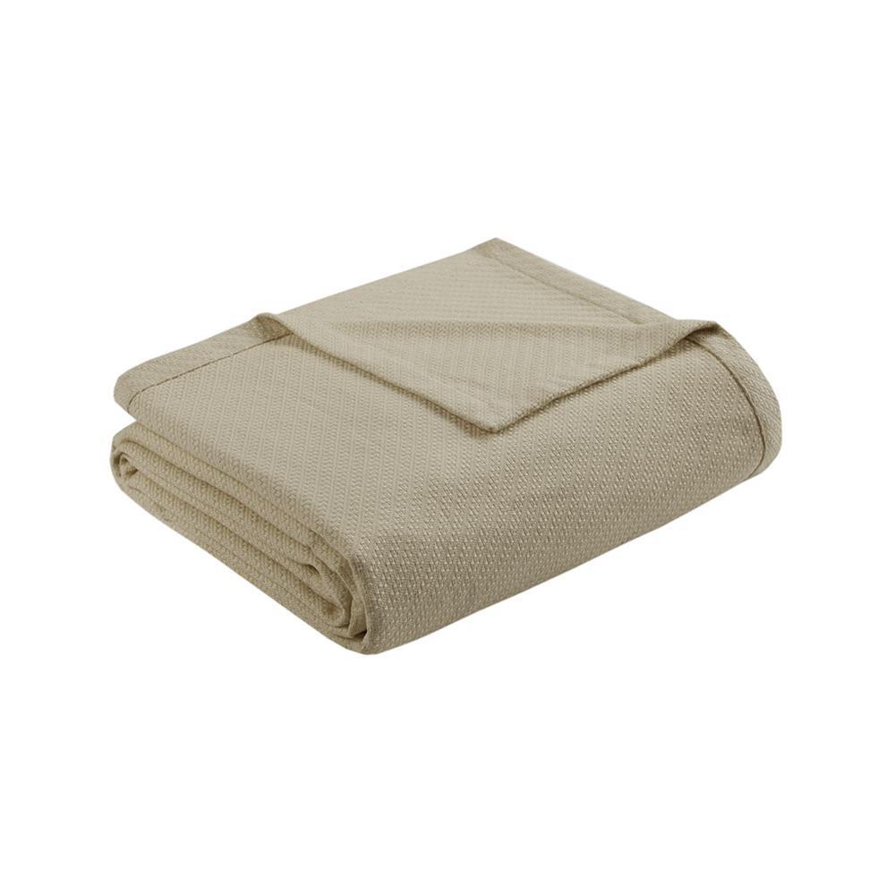 "100% Cotton Blanket w/ 1"" Self Hem,BL51N-0676. Picture 10"