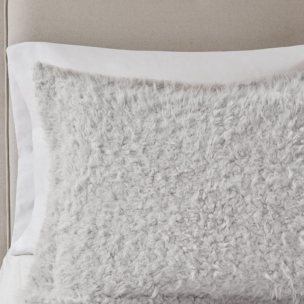 100% Polyester Solid Mohair Comforter Set,MP10-6011. Picture 10