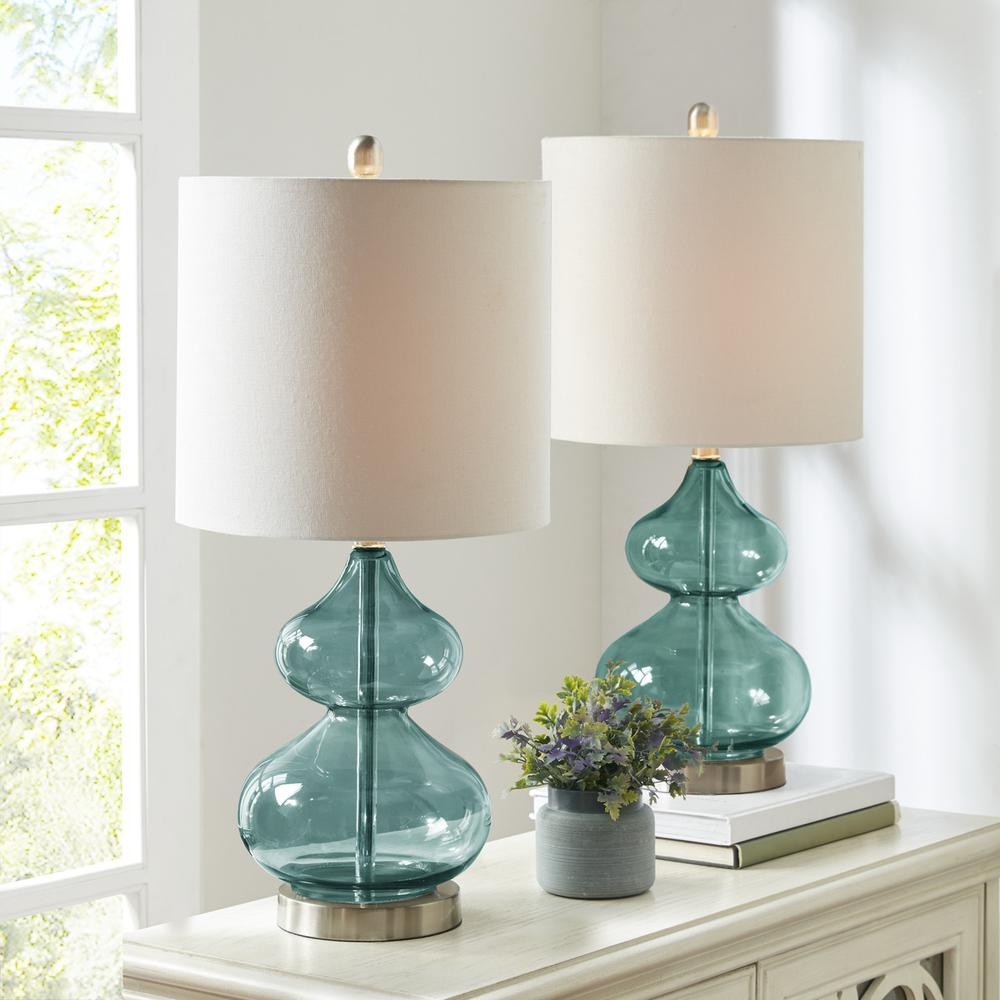 Ellipse Table Lamp Set Of 2,5DS153-0018. Picture 1