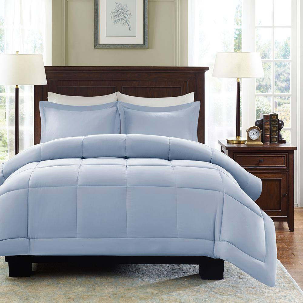 100% Polyester Microcell Comforter Mini Set with 3M Moisture Treatment,MP10-4310. Picture 1