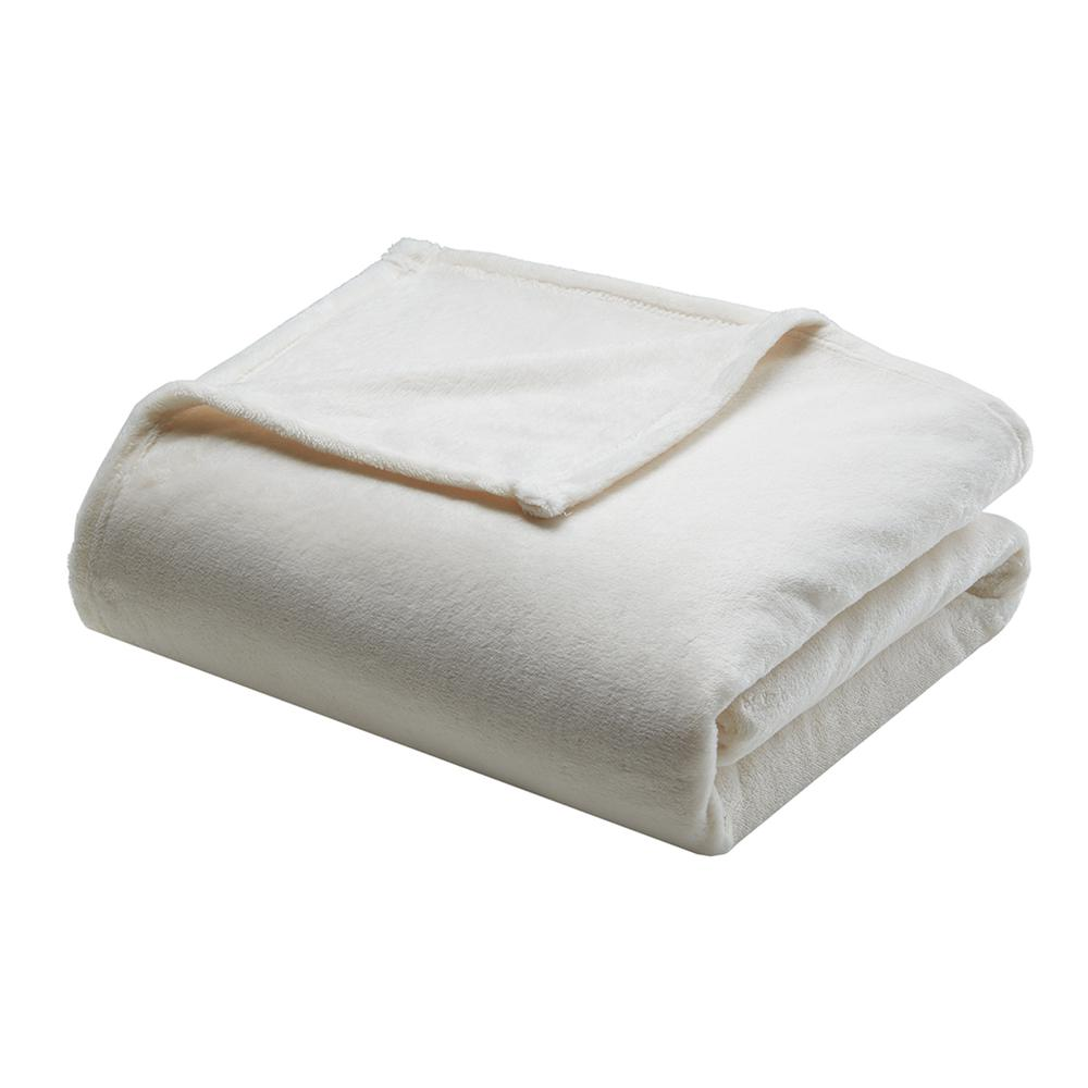 "100% Polyester Microlight Blanket W/ 1"" Self Hem,BL51-0614. Picture 16"