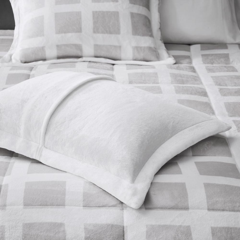 100% Polyester Mae Reversible Comforter Set,MP10-6666. Picture 8