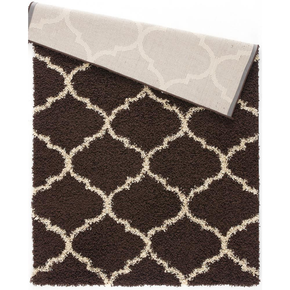 L'Baiet Anabelle Brown Shag 2' x 3' Rug. Picture 4