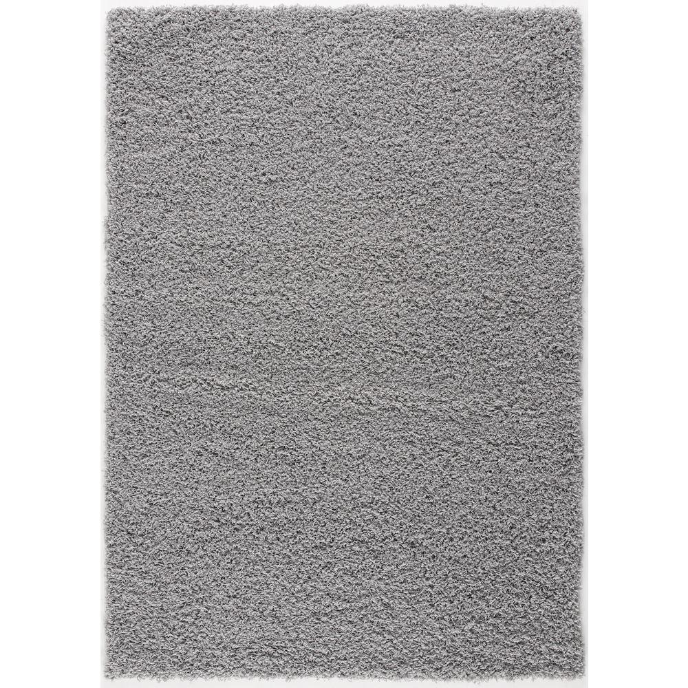 L'Baiet Yara Grey Shag 2' x 3' Rug. Picture 3