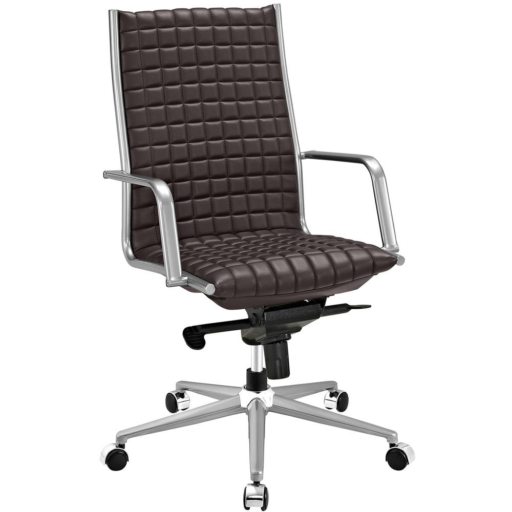 Pattern Highback Office Chair. Picture 1