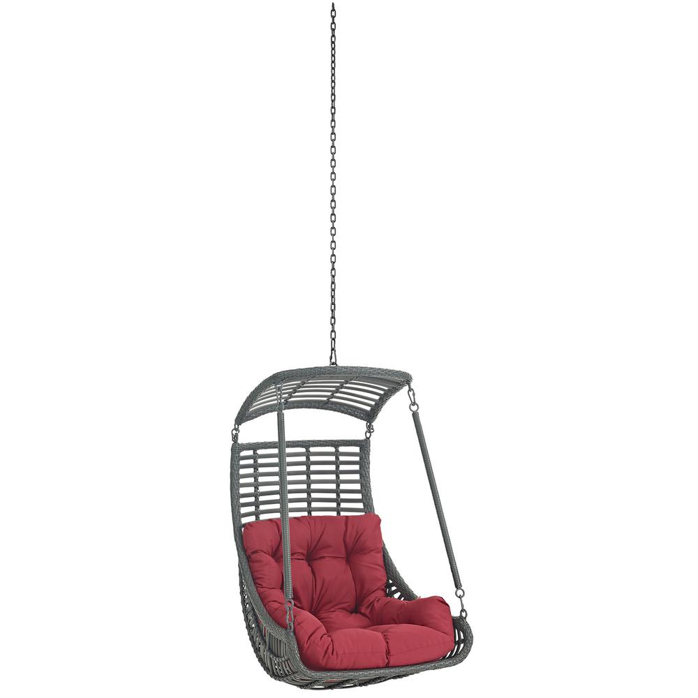 jungle outdoor patio swing chair without stand. Black Bedroom Furniture Sets. Home Design Ideas