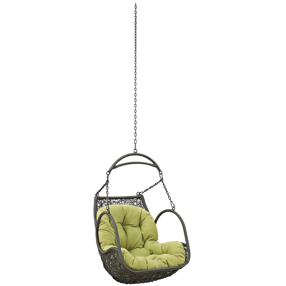 arbor outdoor patio swing chair without stand. Black Bedroom Furniture Sets. Home Design Ideas