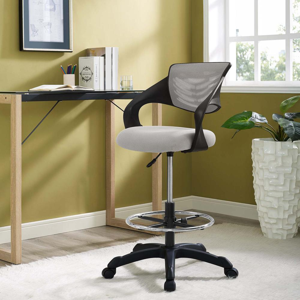 Thrive Mesh Drafting Chair. Picture 7