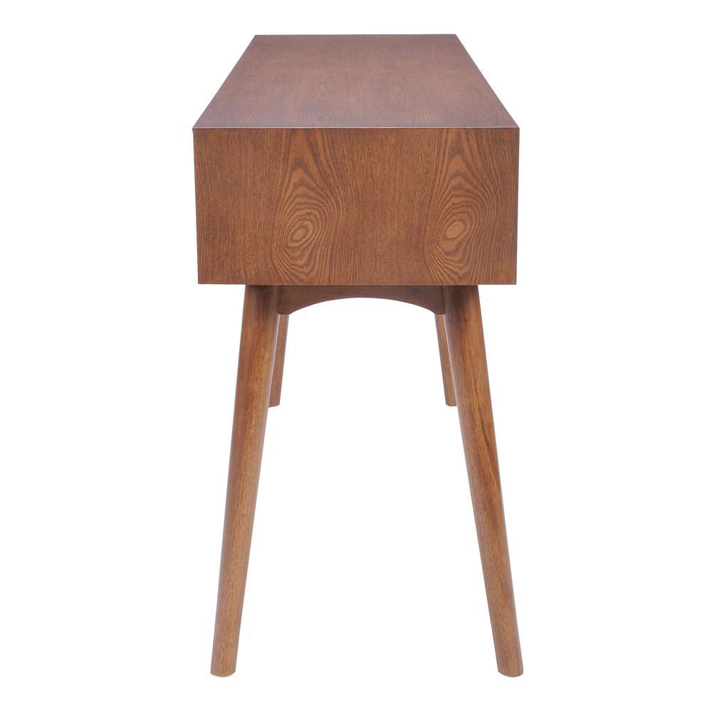 Design District Console Table Walnut. Picture 2