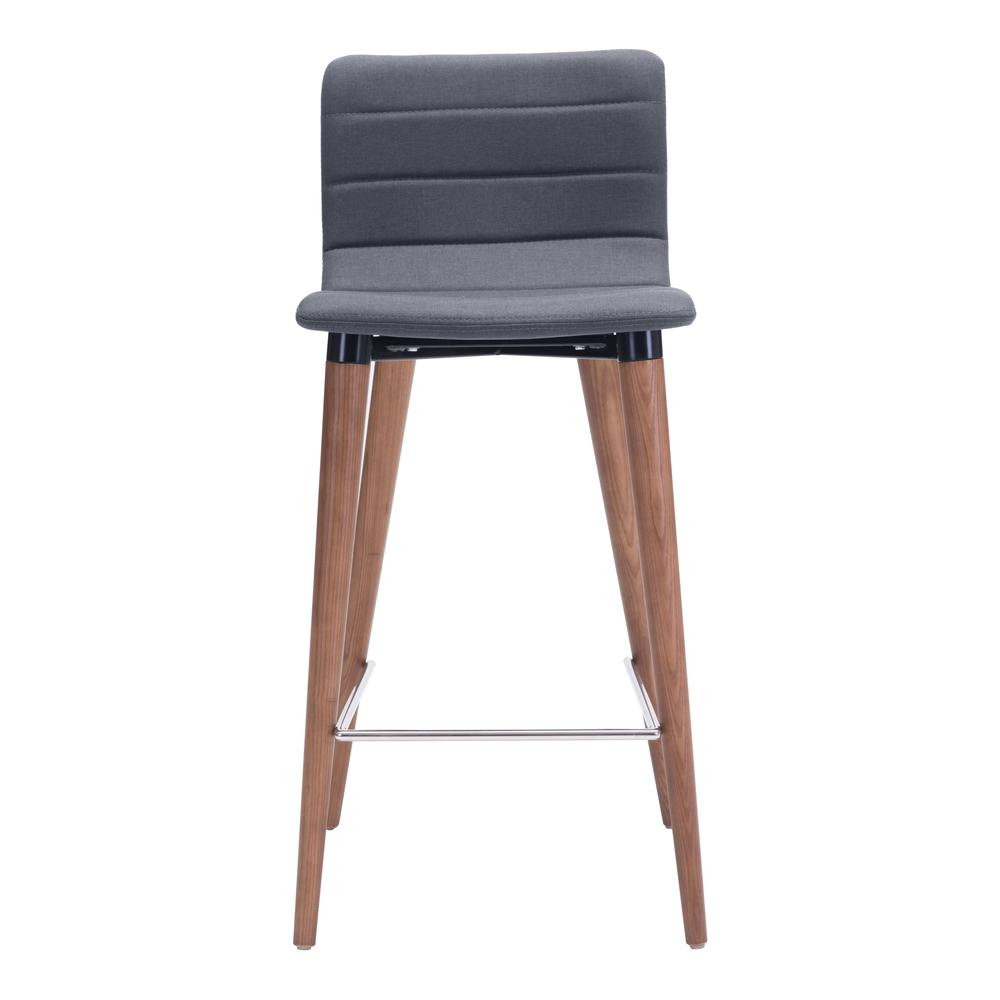Jericho Counter Chair Gray (Set of 2)
