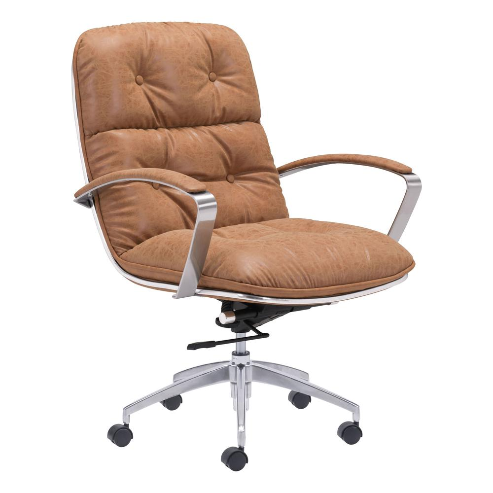 Avenue Office Chair Vintage Coffee. Picture 1