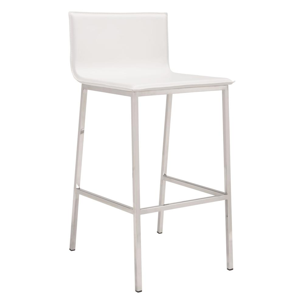 Barstool White. Picture 1