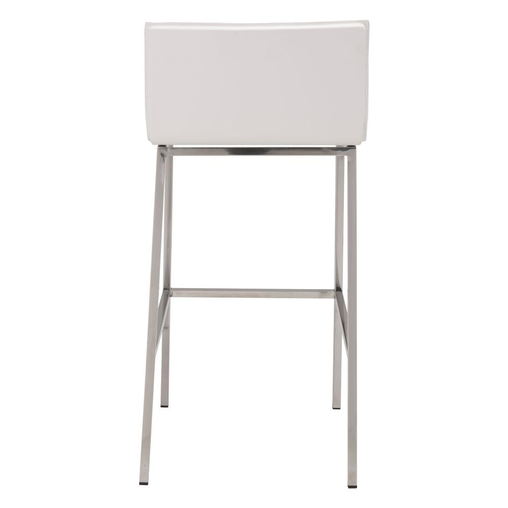Barstool White. Picture 4