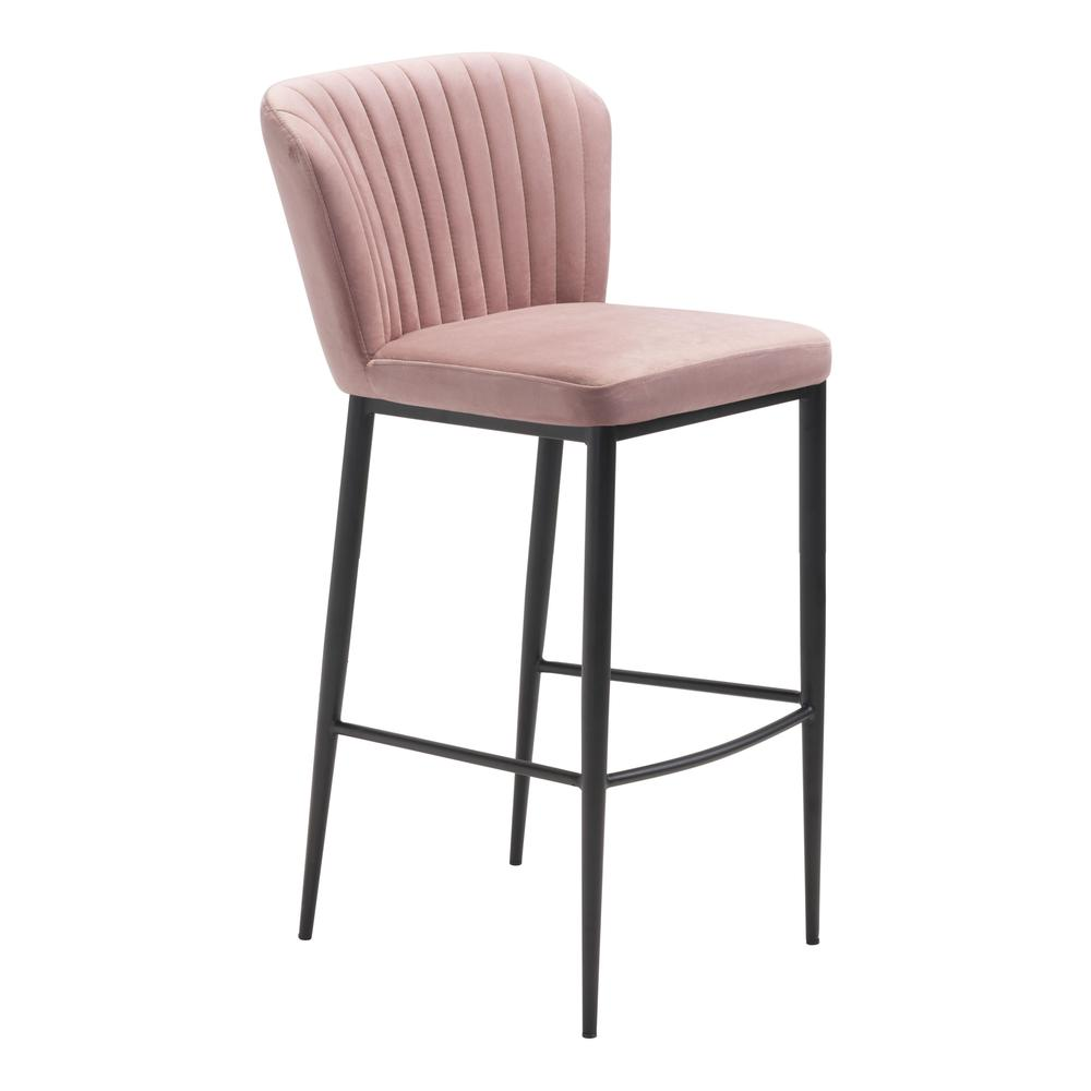 Tolivere Bar Chair Pink (Set of 2). Picture 1