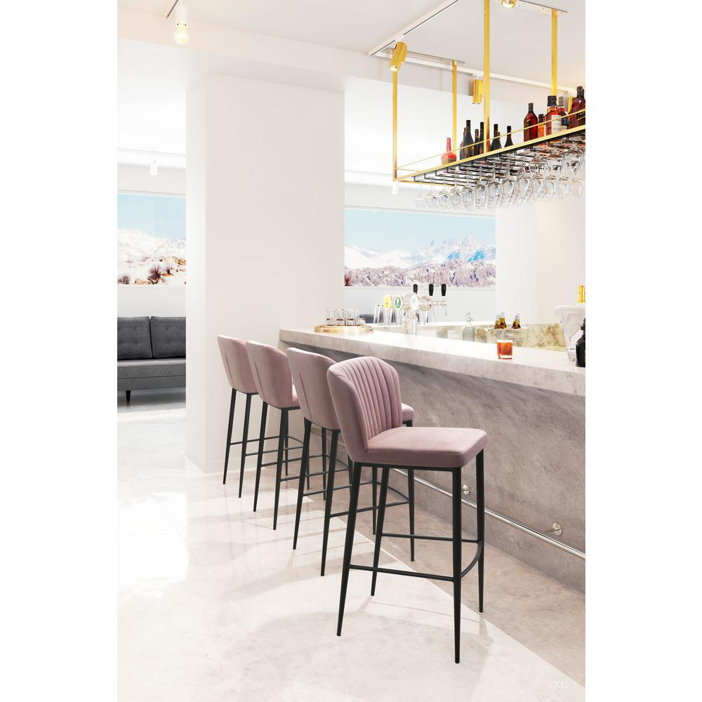 Tolivere Bar Chair Pink (Set of 2). Picture 5