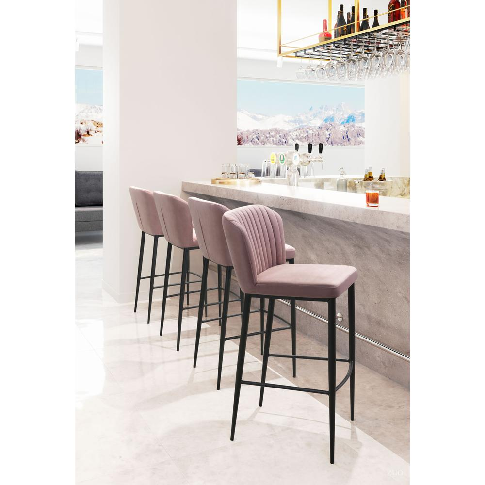 Tolivere Bar Chair Pink (Set of 2). Picture 6