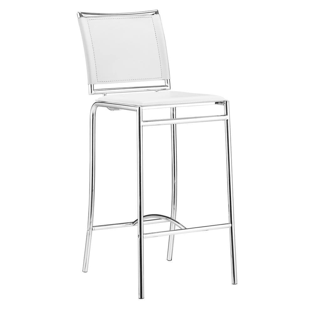 Soar Bar Chair (Set of 2) White. Picture 1