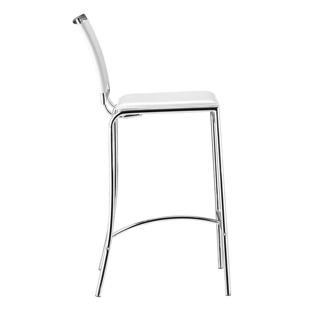 Soar Bar Chair (Set of 2) White. Picture 2