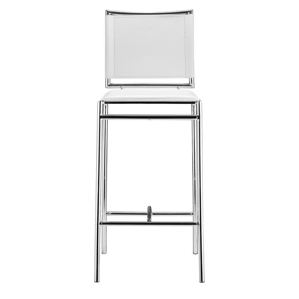 Soar Bar Chair (Set of 2) White. Picture 3