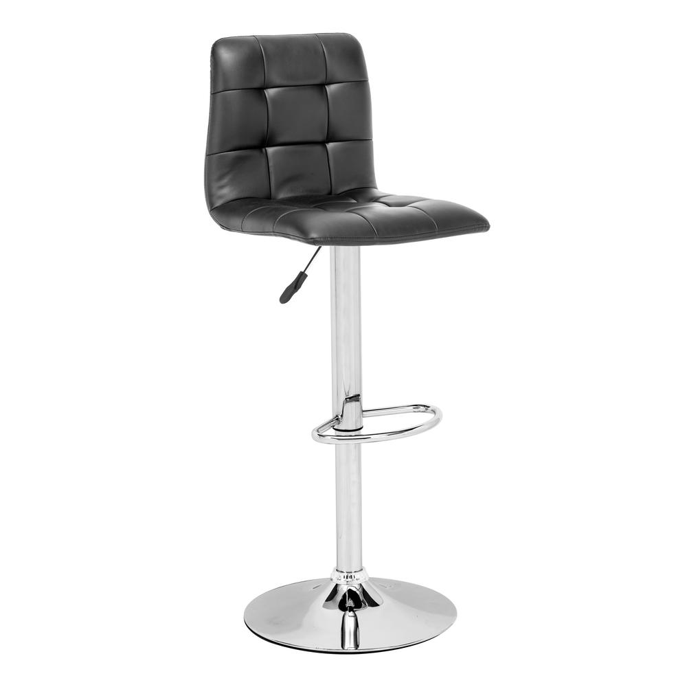 Oxygen Bar Chair Black. Picture 1