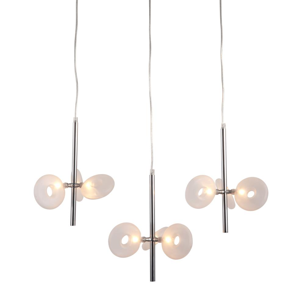 Ceiling Lamp Chrome. Picture 1